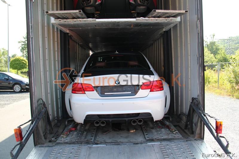 Vehicle transfer, car transport, international freight forwarding Russia, closed car transporter