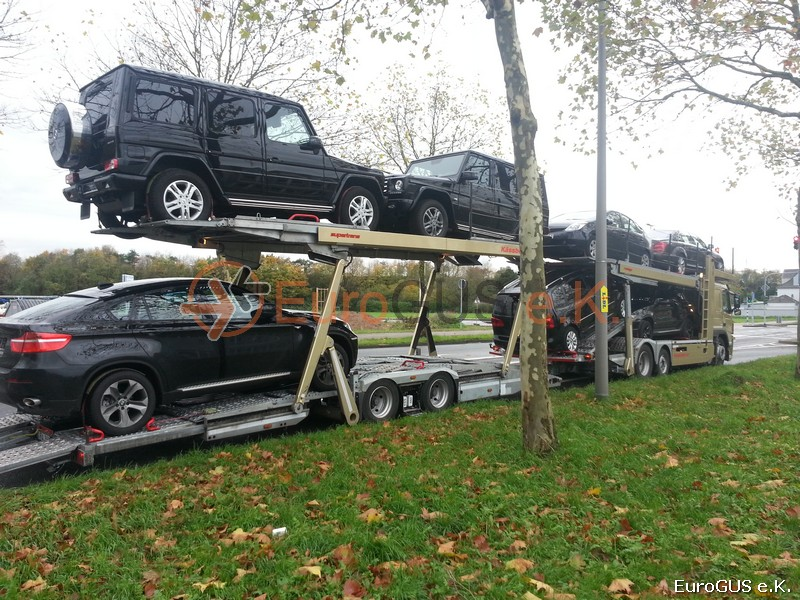 Autotransport nach Russland